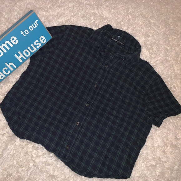 Brandy Melville Tops - Brandy Melville Plaid Flannel Shirt OS